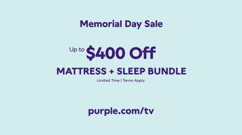 Purple Mattress Memorial Day Sale TV Spot, 'Mattress and Sleep Bundle' - Thumbnail 10