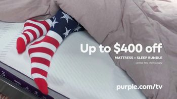 Purple Mattress Memorial Day Sale TV Spot, 'Mattress and Sleep Bundle' - Thumbnail 8