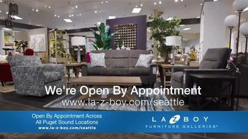 La-Z-Boy TV Spot, 'Rough Times: Open by Appointment' - 32 commercial airings