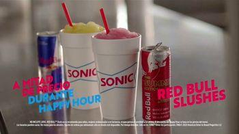Sonic Drive-In Red Bull Summer Edition Slushes TV Spot, 'Pídelo bien frío' [Spanish] - Thumbnail 5
