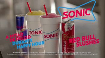 Sonic Drive-In Red Bull Summer Edition Slushes TV Spot, 'Pídelo bien frío' [Spanish] - Thumbnail 6