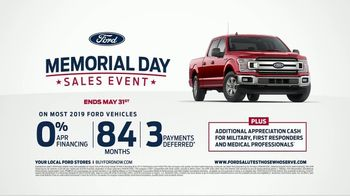 Ford Memorial Day Sales Event TV Spot, 'Celebrate Those Serving' [T2] - Thumbnail 5
