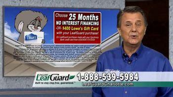 LeafGuard of Charlotte $99 Install Sale TV Spot, 'Good Housekeeping Seal' - Thumbnail 7