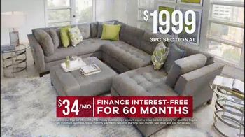 Rooms to Go Memorial Day Sale TV Spot, 'Sectionals' - Thumbnail 5