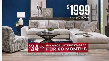Rooms to Go Memorial Day Sale TV Spot, 'Sectionals' - Thumbnail 8