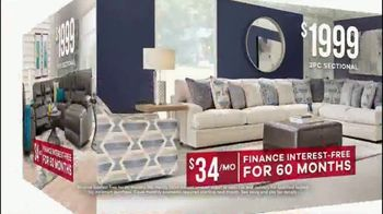 Rooms to Go Memorial Day Sale TV Spot, 'Sectionals' - Thumbnail 9