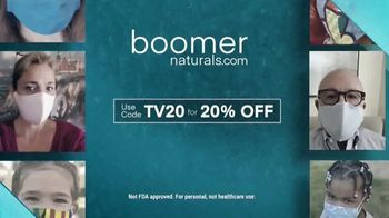 Boomer Naturals Face Masks TV Spot, 'Lab-Verified' - Thumbnail 9
