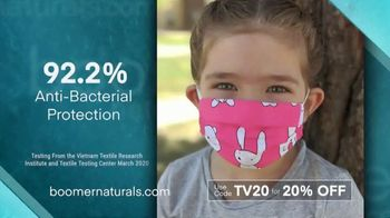 Boomer Naturals Face Masks TV Spot, 'Lab-Verified'