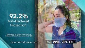 Boomer Naturals Face Masks TV Spot, 'Lab-Verified' - Thumbnail 3