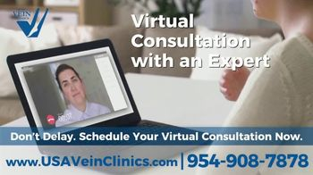 USA Vein Clinics TV Spot, 'Not Just a Cosmetic Problem: Virtual Consultation' - Thumbnail 5