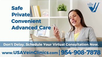 USA Vein Clinics TV Spot, 'Not Just a Cosmetic Problem: Virtual Consultation' - Thumbnail 6