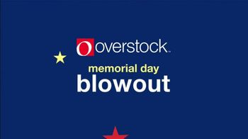 Overstock.com Memorial Day Blowout TV Spot, 'One Million Deals: 15 Percent Off' - Thumbnail 1