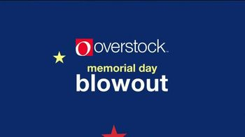 Overstock.com Memorial Day Blowout TV Spot, 'Over One Million Deals' - Thumbnail 1