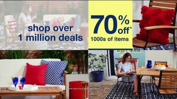 Overstock.com Memorial Day Blowout TV Spot, 'Over One Million Deals' - Thumbnail 2