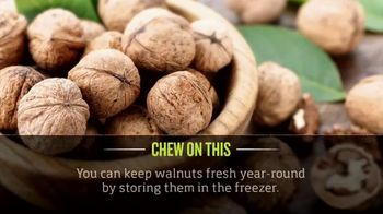 California Walnuts TV Spot, 'Cooking Channel: Chew on This'