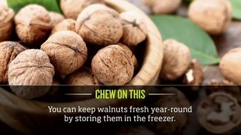 California Walnuts TV Spot, 'Cooking Channel: Chew on This' - Thumbnail 4