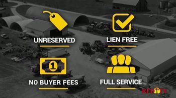 Big Iron Auctions TV Spot, 'Full Service Approach'