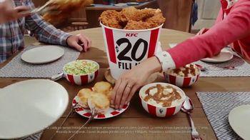 KFC $20 Fill Ups TV Spot, 'Entrega gratis: entrega sin contacto' [Spanish] - Thumbnail 3