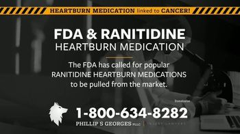 Phillip S. Georges, PLLC TV Spot, 'Heartburn Medications Linked to Cancer' - Thumbnail 2