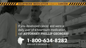 Phillip S. Georges, PLLC TV Spot, 'Heartburn Medications Linked to Cancer' - Thumbnail 3