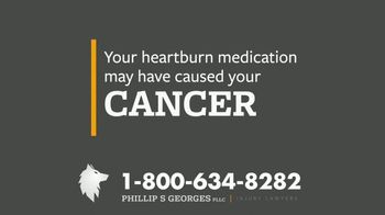 Phillip S. Georges, PLLC TV Spot, 'Heartburn Medications Linked to Cancer' - Thumbnail 4