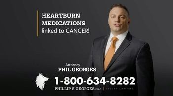 Phillip S. Georges, PLLC TV Spot, 'Heartburn Medications Linked to Cancer' - Thumbnail 5