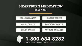 Phillip S. Georges, PLLC TV Spot, 'Heartburn Medications Linked to Cancer' - Thumbnail 7