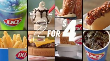 Dairy Queen Dairy Queen 2 for $4 Super Snack Menu TV Spot, 'Car Console'