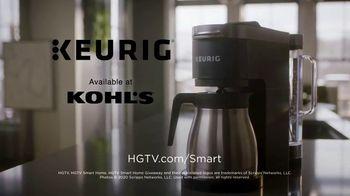 Keurig TV Spot, 'HGTV Smart Home 2020: Smarter Mornings' - Thumbnail 9
