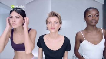 Garnier SkinActive Micellar Water TV Spot, 'Is Your Cleanser Cleansing?: Water Rose' - Thumbnail 1