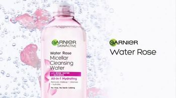 Garnier SkinActive Micellar Water TV Spot, 'Is Your Cleanser Cleansing?: Water Rose' - Thumbnail 10