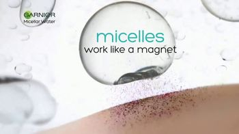Garnier SkinActive Micellar Water TV Spot, 'Is Your Cleanser Cleansing?: Water Rose' - Thumbnail 4