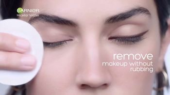 Garnier SkinActive Micellar Water TV Spot, 'Is Your Cleanser Cleansing?: Water Rose' - Thumbnail 5