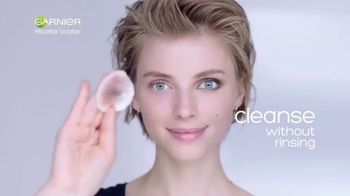 Garnier SkinActive Micellar Water TV Spot, \'Is Your Cleanser Cleansing?: Water Rose\'