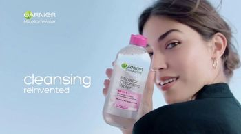 Garnier SkinActive Micellar Water TV Spot, 'Is Your Cleanser Cleansing?: Water Rose' - Thumbnail 8
