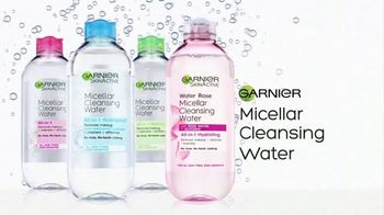 Garnier SkinActive Micellar Water TV Spot, 'Is Your Cleanser Cleansing?: Water Rose' - Thumbnail 9