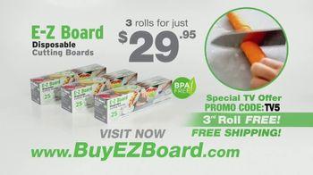 E-Z Board TV Spot, 'Disposable Cutting Board' - Thumbnail 10