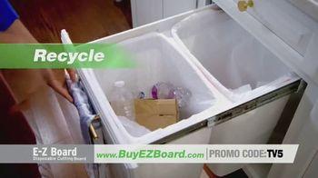 E-Z Board TV Spot, 'Disposable Cutting Board' - Thumbnail 4