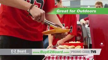 E-Z Board TV Spot, 'Disposable Cutting Board' - Thumbnail 5