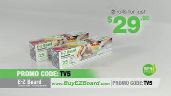 E-Z Board TV Spot, 'Disposable Cutting Board' - Thumbnail 9
