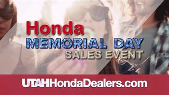 Honda Memorial Day Sales Event TV Spot, 'The Savings Are Everywhere: SUVs' [T2] - Thumbnail 4