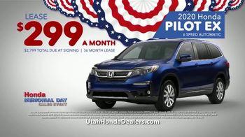 Honda Memorial Day Sales Event TV Spot, 'The Savings Are Everywhere: SUVs' [T2] - Thumbnail 3
