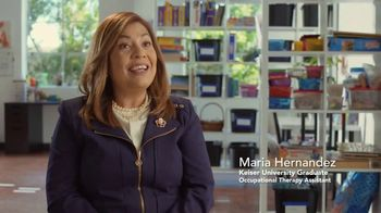 Keiser University TV Spot, 'The Hernandez Family: Occupational Therapy Assistant'