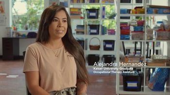 Keiser University TV Spot, 'The Hernandez Family: Occupational Therapy Assistant' - Thumbnail 7