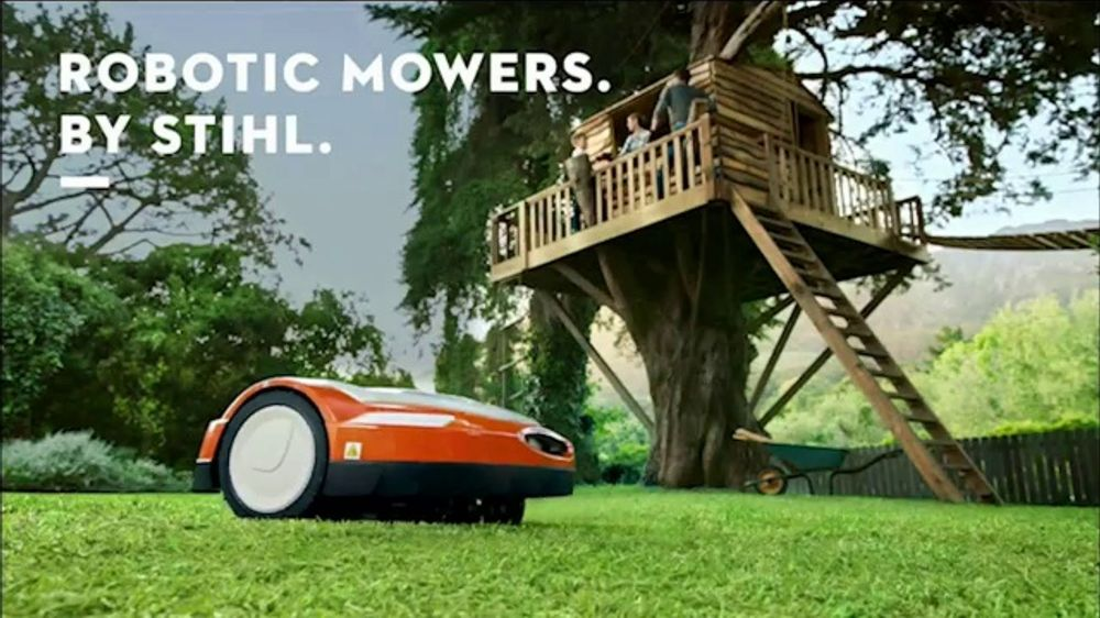 STIHL TV Commercial, 'Robotic Mowers: Treehouse'