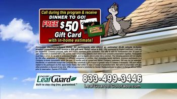 LeafGuard of Colorado $99 Install Sale TV Spot, 'Protecting Your Home From Water Damage' - Thumbnail 9