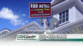 LeafGuard of Colorado $99 Install Sale TV Spot, 'Protecting Your Home From Water Damage' - Thumbnail 6