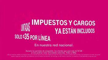 T-Mobile TV Spot, 'Impuestos y cargos ya están incluidos' [Spanish] - Thumbnail 4