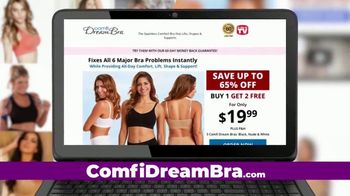 Comfi Dream Bra Warehouse Sales Event TV Spot, 'Comfort Bras up to 65 Percent Off' - Thumbnail 2