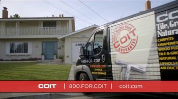 COIT TV Spot, 'Disinfect and Deep Clean' - Thumbnail 1